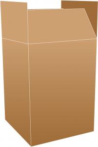 Tea chest vector